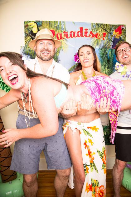 stephanie hudson photo tiki party